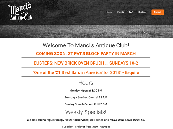Manci's Antique Club - Blue Fish