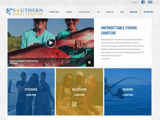 Southern Drawl Charters - Blue Fish