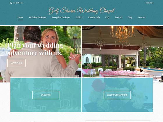 Gulf Shore Wedding Chapel - Blue Fish