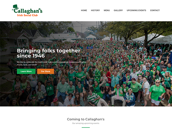 Callaghan's Irish Social Club - Blue Fish
