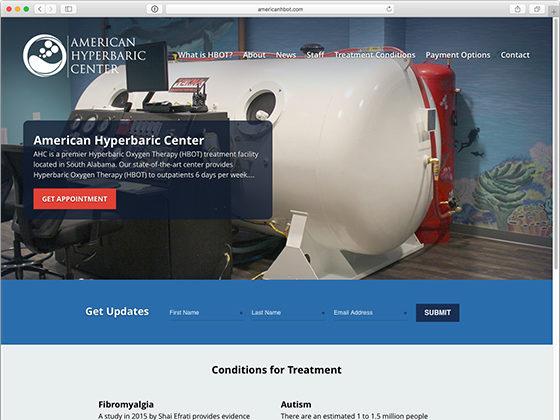 American Hyperbaric Center - Blue Fish