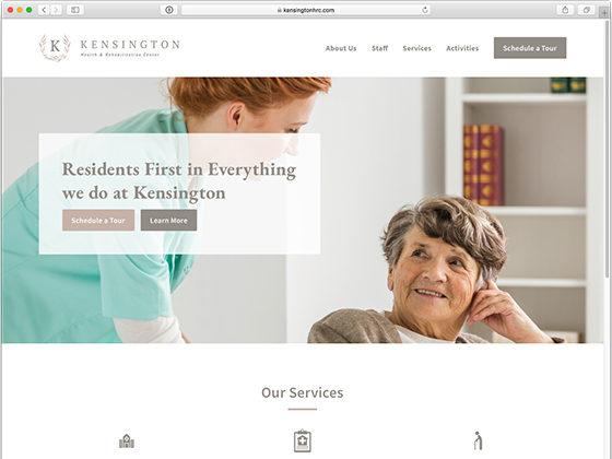 Kensington Health & Rehabilitation Center - Blue Fish