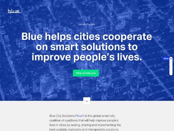 Blue City Solutions - Made By Johannes