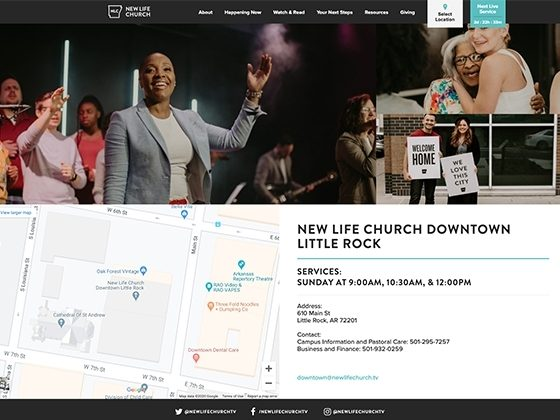 New Life Church - Foster Made
