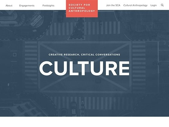 Society for Cultural Anthopology - Foster Made