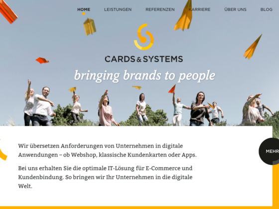 Cards & Systems - Getdesigned GmbH