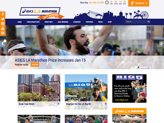 LA Marathon - Lindsey DiLoreto