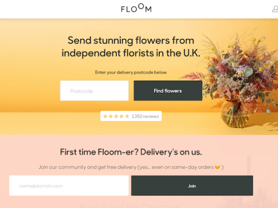 Craft commerce, flowers online - Rob Lefort