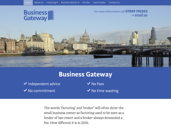 Business Gateway - Steve Rowling