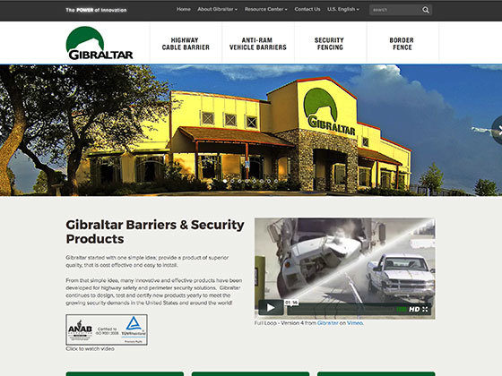 Gibraltar Barriers & Security Products - Roger Glenn