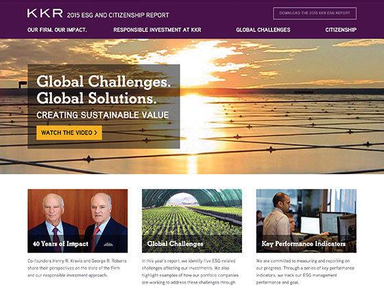 KKR ESG & Citizenship Report - Roger Glenn