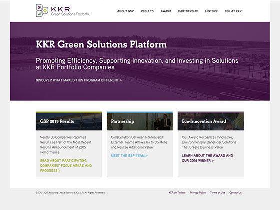 KKR Green Solutions Platform - Roger Glenn
