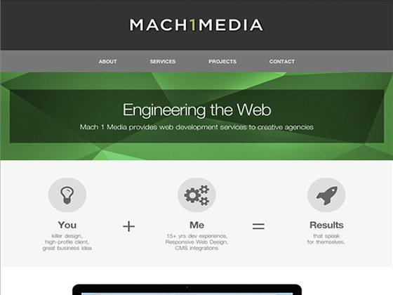 Mach 1 Media - professional portfolio - Roger Glenn