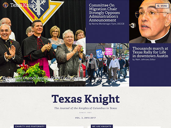Texas Knights of Columbus: Online Newspaper - Roger Glenn