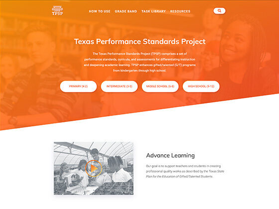 Texas Performance Standards Project - Roger Glenn
