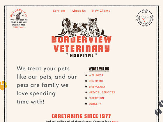 Borderview Veterinary Hospital - Eli Van Zoeren