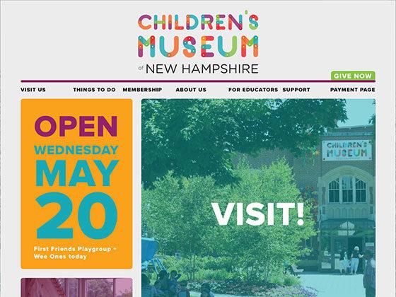 Children's Museum of New Hampshire - Eli Van Zoeren