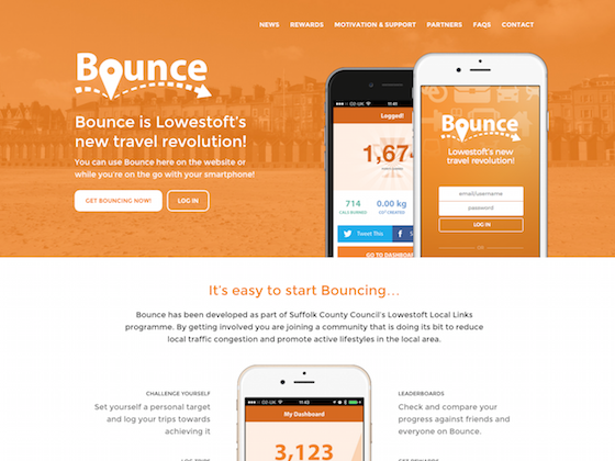 Bounce Lowestoft - webdna