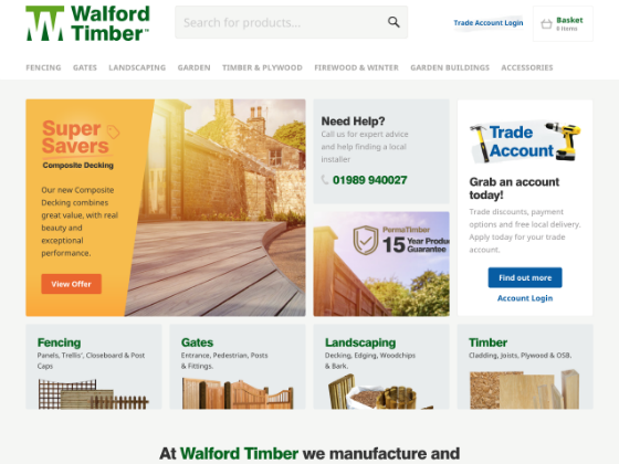 Walford Timber - webdna