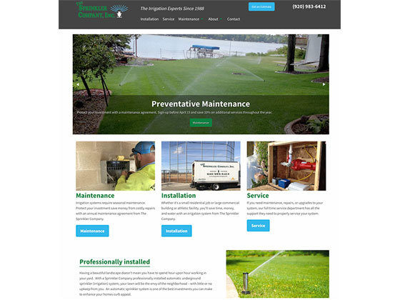 The Sprinkler Company - Ritter Knight Creative