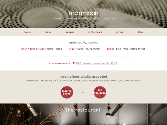 Mamnoon - Matt Stein