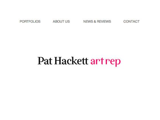 Pat Hackett / Artist Representative - Matt Stein