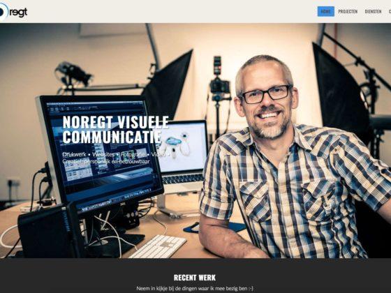 Noregt website - Noregt Creative Media
