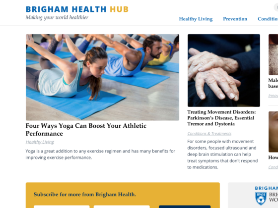 Brigham Health Hub - Max McClaskie