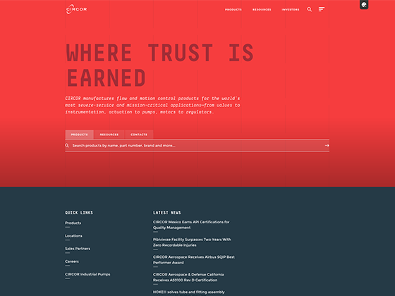 CIRCOR Unified Website - Ian DeRanieri