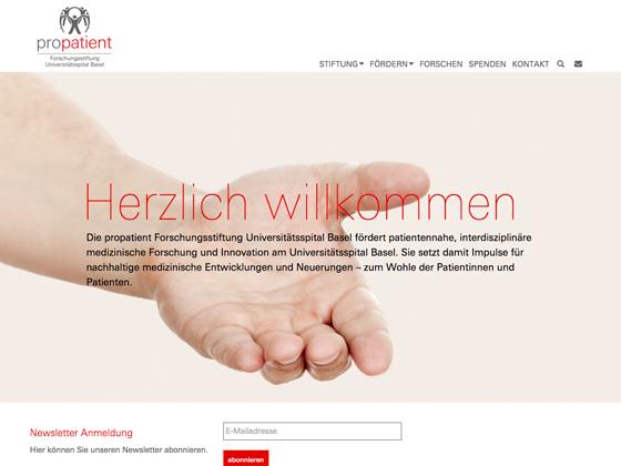propatient Forschungsstiftung Universitätsspital Basel  - kreisvier communications ag