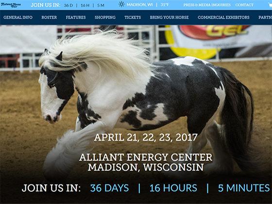 Midwest Horse Fair - Versa Studio