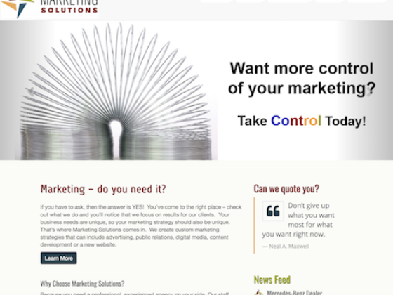 Marketing Solutions  - Petroglyph Creative