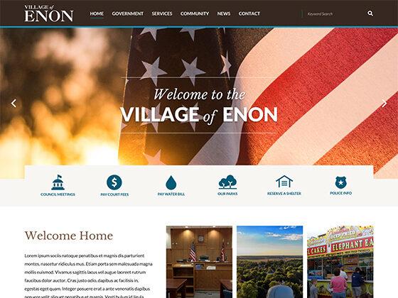 Village of Enon Ohio - Antistatic Design