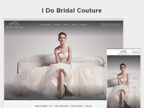 I Do Bridal Couture - Stephen Bowling