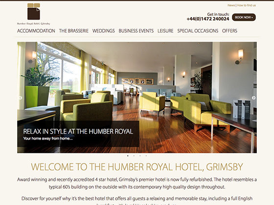 The Humber Royal Hotel - Made by Bridge