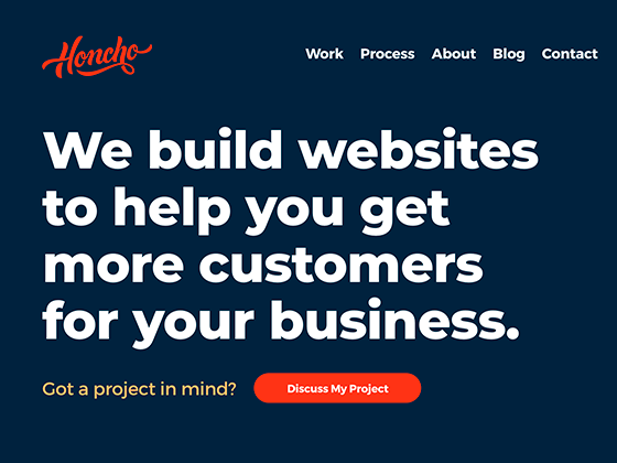 Honcho – Web Design & Development in Cheshire - Matt Ellis