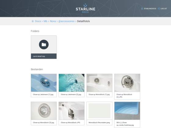 Starline Dropbox integration - Digital Agency WHITE