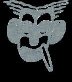 1b14bd90236 Groucho Marx (Silver Shimmer) T-Shirt for Men