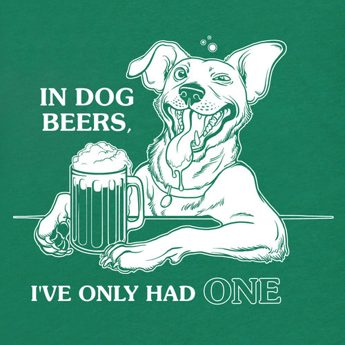 in dog beers ive only had one
