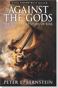 book titled Against the Gods