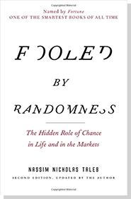 book titled Fooled by Randomness