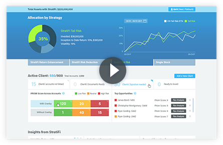 video explanation of StratiFi's investment management software
