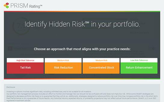 Image of StratiFi's investment portfolio management software