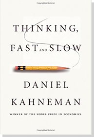 book titled Thinking Fast and Slow