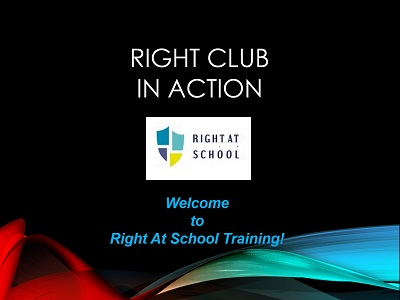 RIGHT CLUB IN ACTION: Welcome to Right At School Training!