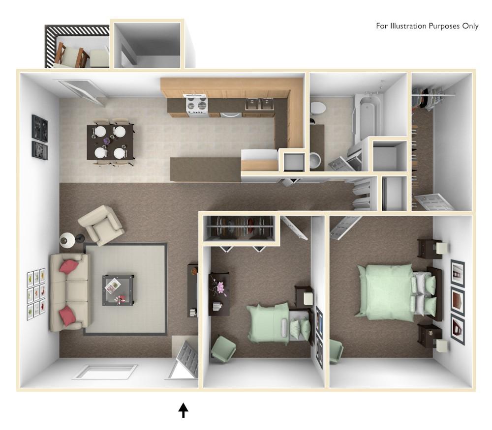 Village Apartments: Cheswick Village Apartments