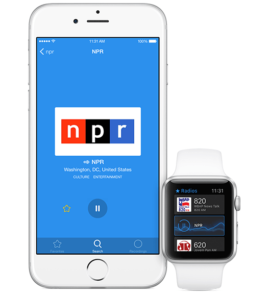 Simple Radio for Apple Watch