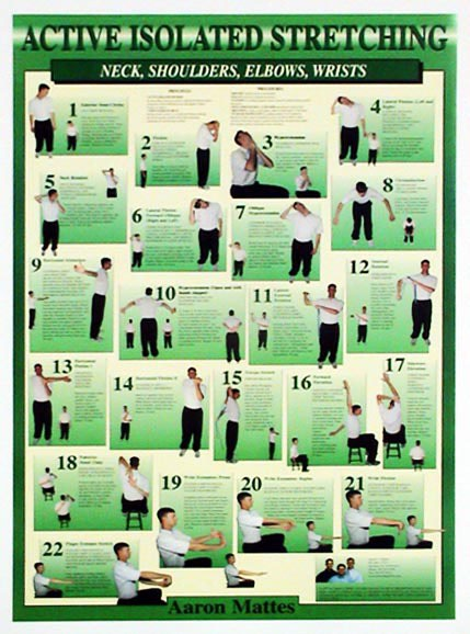 ais upper body workout chart stretching usa