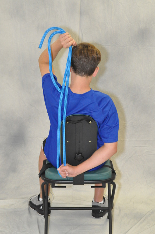 Blue Stretching Rope 8 Soft 187 Stretching Usa