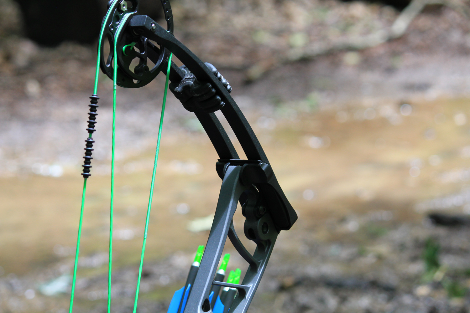 Winner's Choice Strings - Fluorescent Green Colors on a BCYX Material